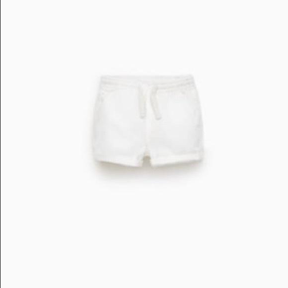 Zara Other - Zara | White Shorts | Size 12-18MO | NWOT